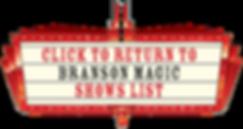 magic shows list