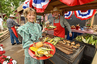 americana, dining, southern cooking, fourth of july cookout, cajun festival