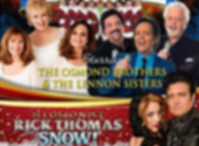 moon river theater, the osmonds, lennon sisters