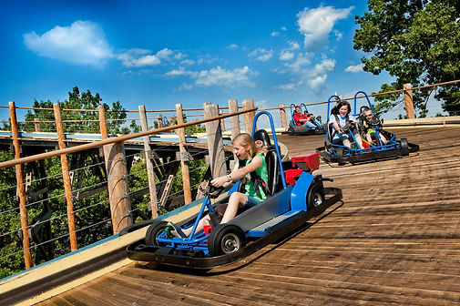 indoor go karts, ozark sports, family racing, family vacation fun