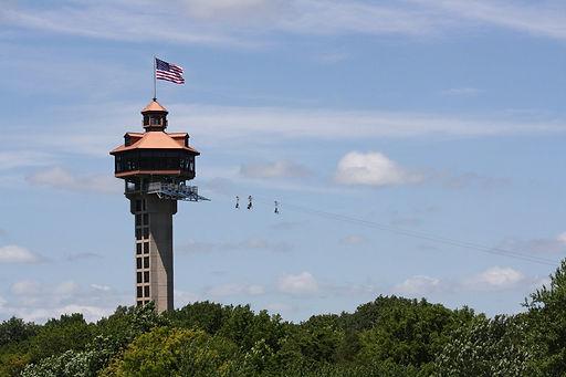 zip line branson mo, branson zipline, inspiration tower
