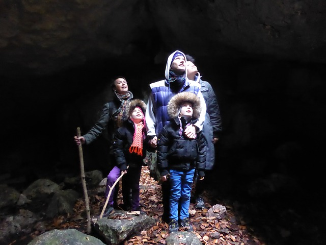 spelunking cave guided tour