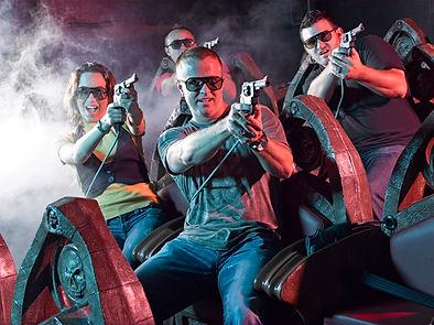 5D amusement park, 5D adventure, laser gun ride, hollywood wax museum