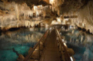 underground lake, branson caves, marvel cave