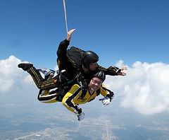 skydiving, bucket list
