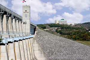 famous hydroelectric sites, tablerock