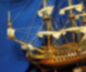 display replica ship
