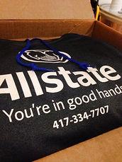allstate insurance, hoodie design