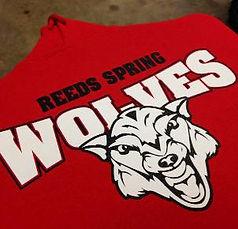 reeds spring wolves, custom hoodies