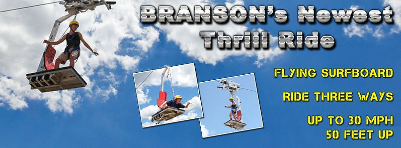 hoverboard, fast ride, amusement park branson