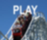play, roller coaster ride