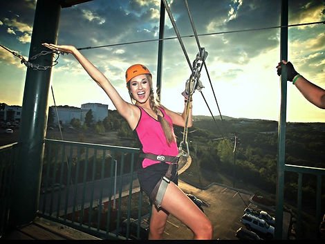 adventure zipline canopy tours, zip line branson mo