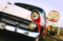 vintage cars, classic cars, retro hotel, southern lodging, shepherd of the hills hotel