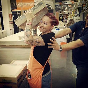 tattooed and employed, home depot, tattoo acceptance in the workplace