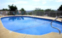 heated outdoor pool, pool with view, mountain pool