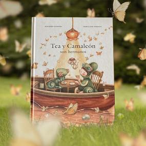 Tea y Camaleón son hermanos (Tea and Chameleon are siblings)