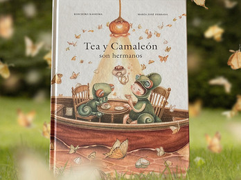 Tea y Camaleón son hermanos (Tea and Chameleon are siblings)