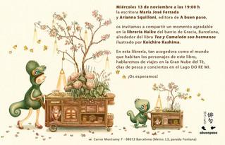"""""""Tea y Camaleón son hermanos"""" event!"""