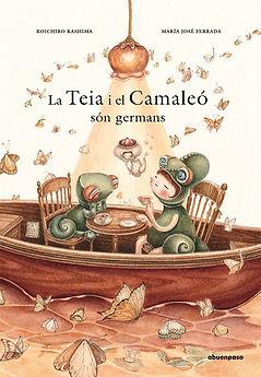 Tea y Camaleón son hermanos カタロニア語.jpg