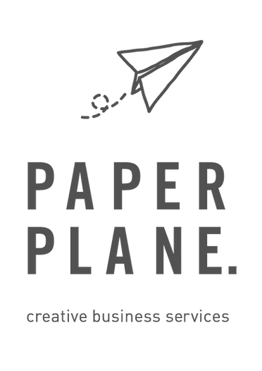 Paper-Plane Business Logo