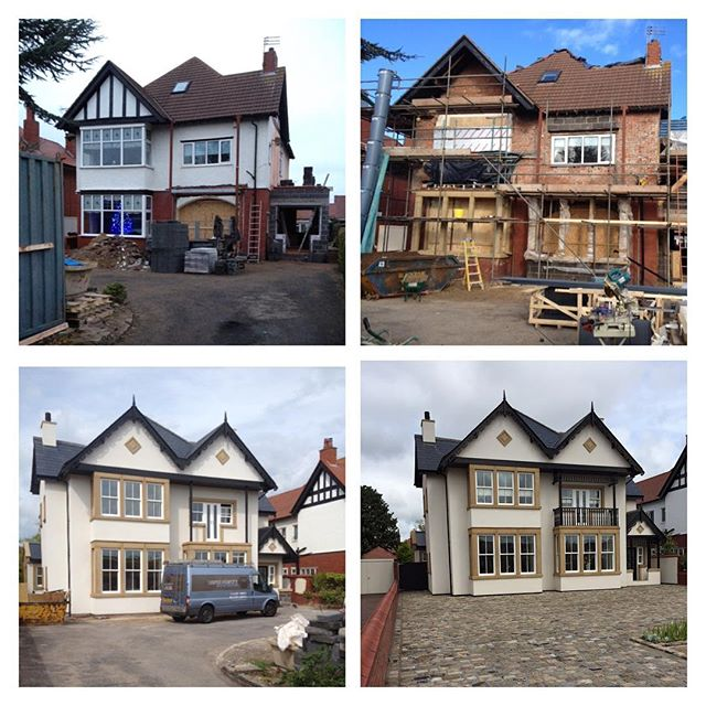 Complete renovation of a property in lytham #perfettibuilders #renovationspecialist #krend#stonework