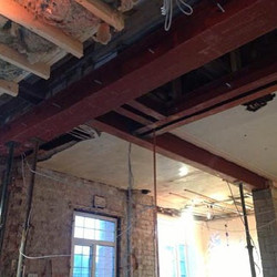 Our building services extend to structural works on your property