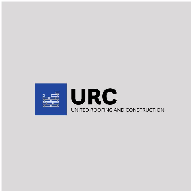 United Roofing Logo URC Mississippi United Roofing United Construction Logo