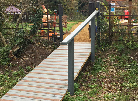 Safer access for the garden