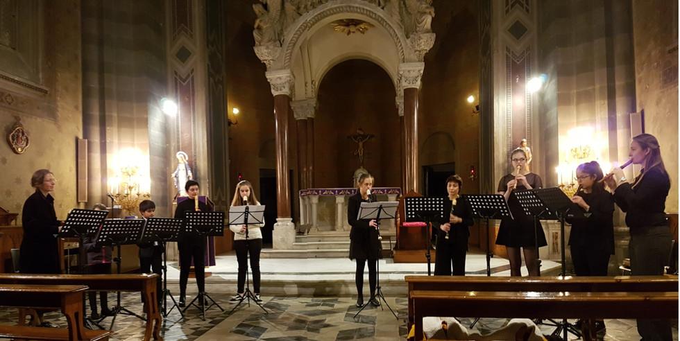 Concert-jumelage Sion-Rome 2017 (Conservatoire de Sion et Institut Nazareth de Rome)