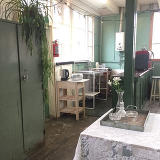 Keuken in Het Cafe