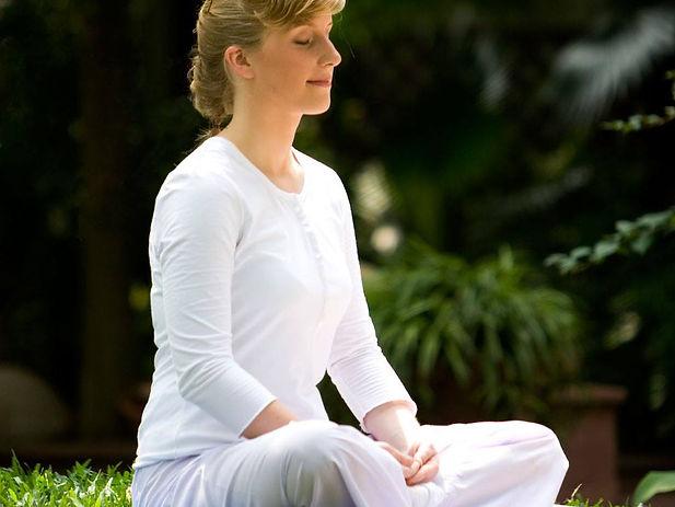 Peacful meditation