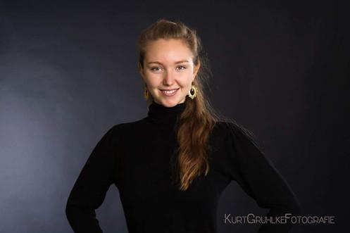 Kurt Gruhlke Fotoshooting with Susanna