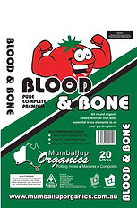 Bag of blood and bone from mumballup organics