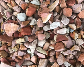 20-40mm crushed riverstone