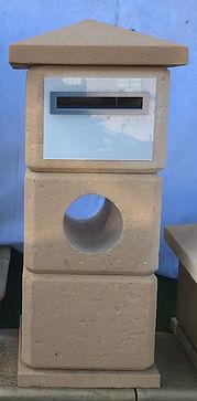 3 block modular DIY Letterbox