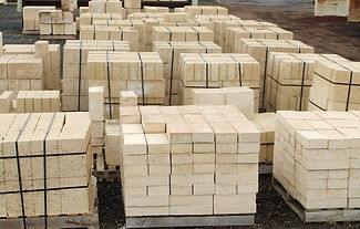 Large range of natural limestone blocks