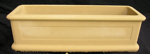 Retangle tusan styled sandstone planter box