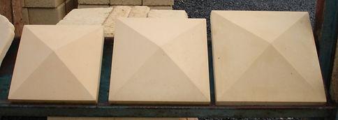 Limestone and Sandstone Pier Caps