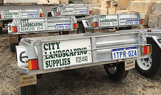 6x4 Trailers for hire