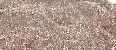 Stockpile of Bush Mulch
