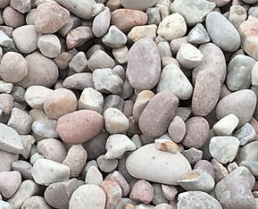 50mm riverstone also called river gravel and crushed riverstone