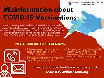 Misinformation about COVID-19 Vaccinatio