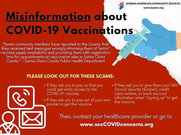 Misinformation about COVID-19 Vaccinatio