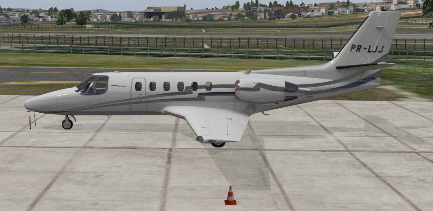 Carenado Citation II | flypaintbrasil