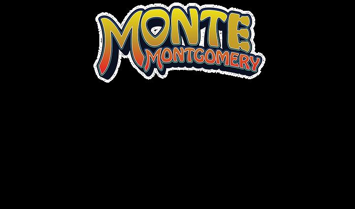 alt = Blues guitarist Monte Montgomery tour show and local dates page logo