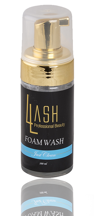 Fransrengöring - Foam Wash - Just Clean-parfymfri 100ml
