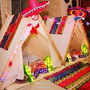 Festa do pijama no tema Harry Mexicano