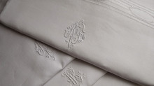 Gorgeous European linens from the 1930s