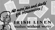 Irish Linen washes without worry!