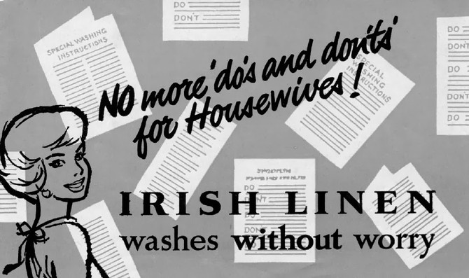 Irish Linen washes without worry!